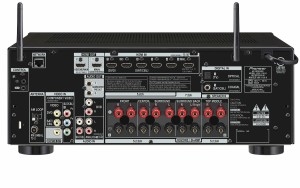 Pioneer VSX-1130-K 7.2-Channel rear