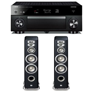 Yamah RX-A1040BL with speakers